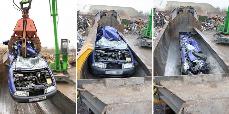 Car recycling in Wrexham